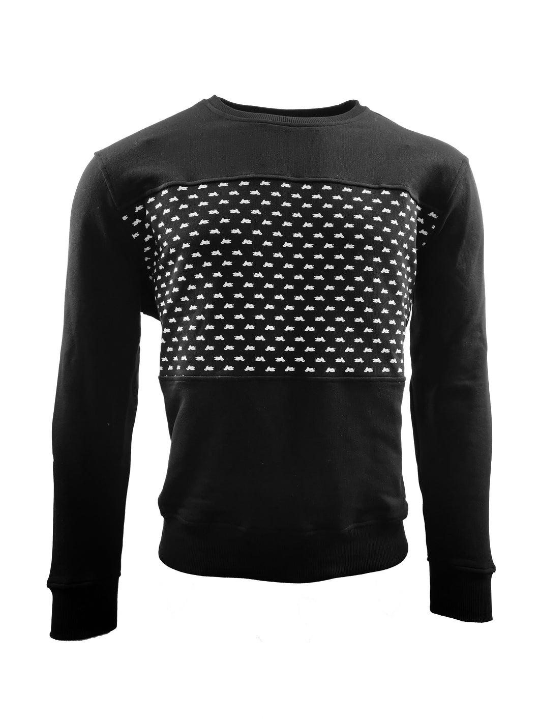 Sweatshirt skoter - [Style_of_Norrland] snowmobile sweatshirt