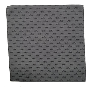 Snowmobile Hanky gray