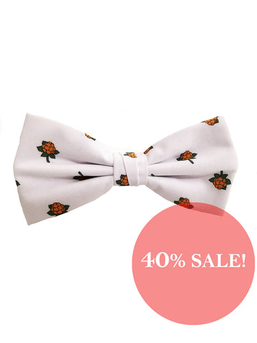 Cloudberry bow tie