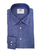 Load image into Gallery viewer, Linen shirt blue