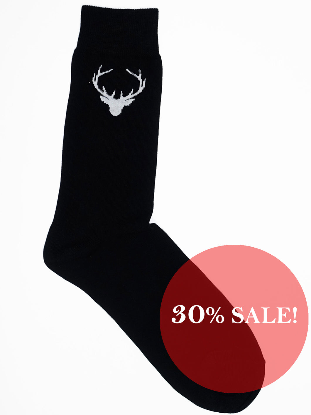 Reindeer head socks