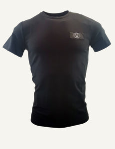SON badge t-shirt slim fit black