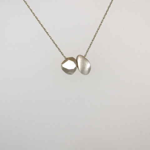 Concretion and Polygon Seeds Necklace