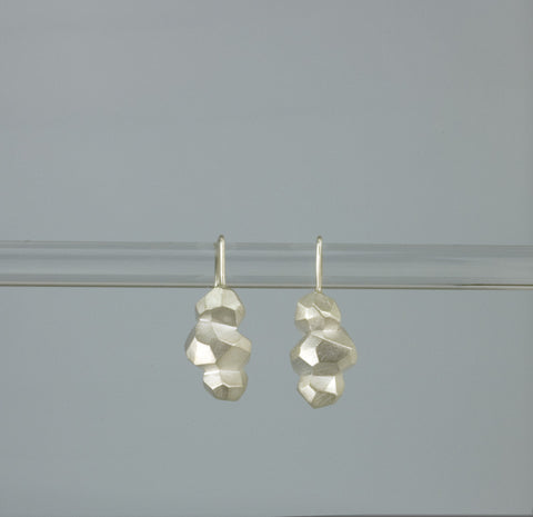 Triple Polygon Earring