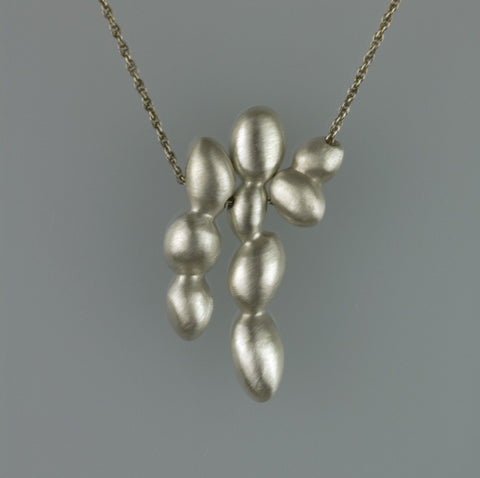Trio of Small Concretions Necklace