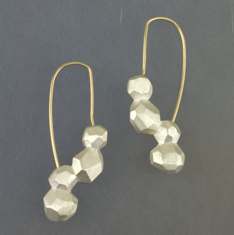 Long Polygon Earring