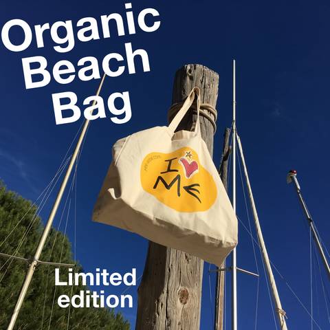 Organic Beach Bag I LOVE ME!
