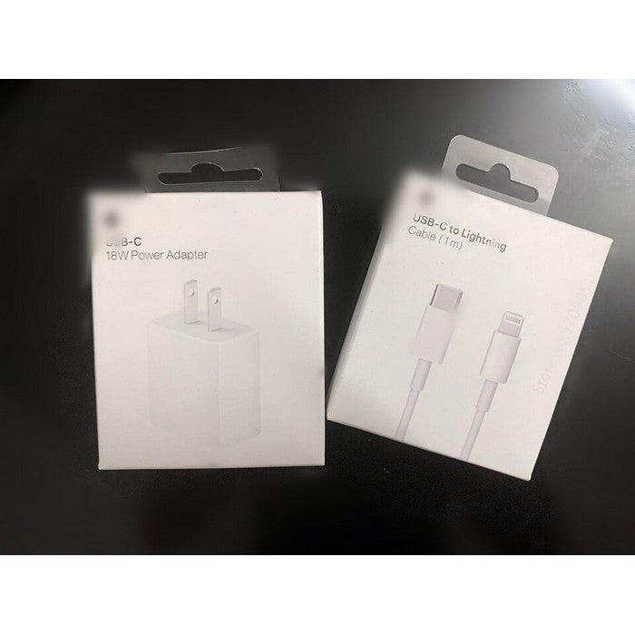 Apple 18W USB-C Power Adapter With Type C Cable