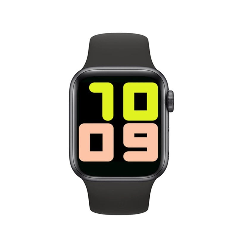 T500 Smart Helat Watch Heart Rate Monitor Apple Design BLACK