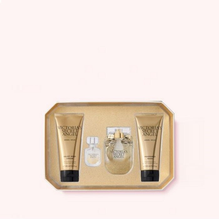 Victoria's Secret : ANGEL GOLD : 4-Piece Perfume Set 2020