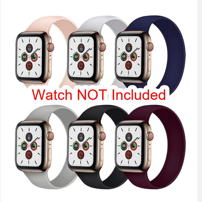 Apple Watch Straps : Silicon Solo Strap