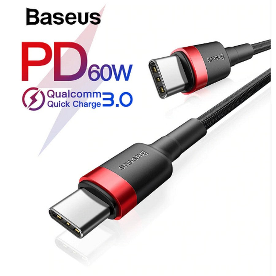 Baseus : Kelver :USB-C to USB-C Charging Cable