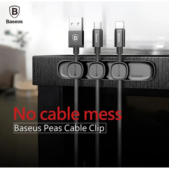 Baseus : Cable Organizers : Magnetic Cable Clips