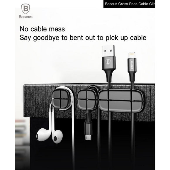 Baseus : Cable Organizers : Silicon Cable Clips