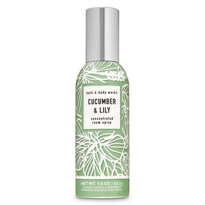 Bath and Body Works : Concentrated Room Spray : Cucumber & Lily