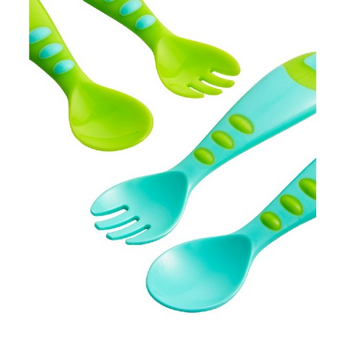 Mothercare : Easy Grip Spoon and Fork Set - Set of 4