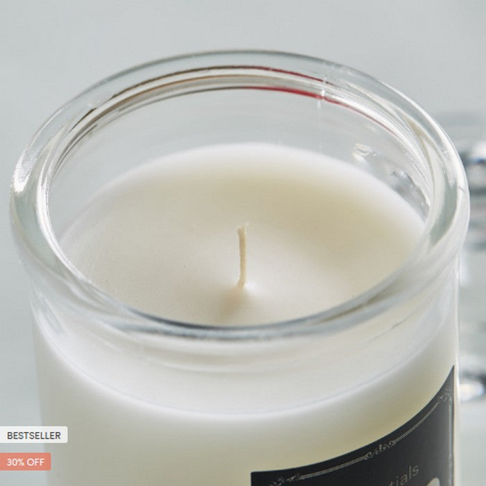 HomeCentre : Essentials : Scented Glass Jar Candle