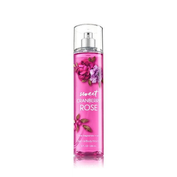 Bath and Body Works : Fragrance Mist : Sweet Cranberry Rose