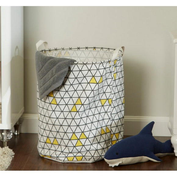 HomeCentre : Jenny : Printed Collapsable Laundry Hamper
