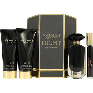 Victoria's Secret : NIGHT : 4-Piece Perfume Set