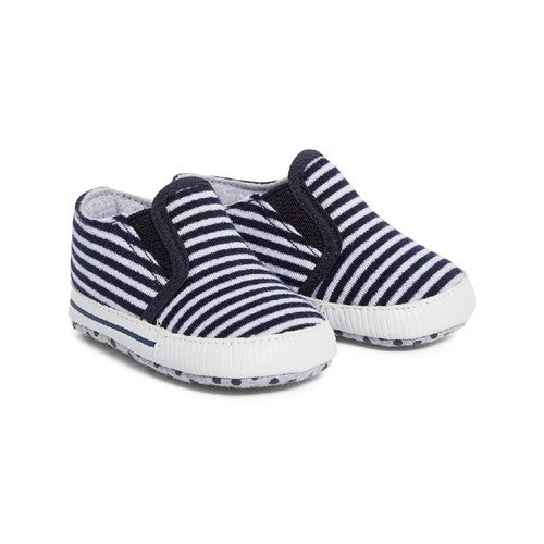 Mothercare : Stripe Pram Shoes