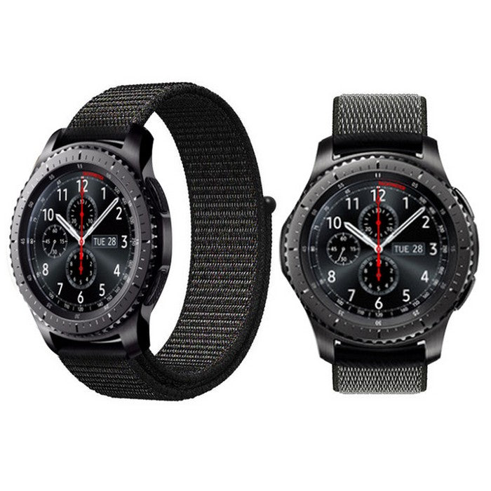 Android Watch Straps : Sports Nylon - Black