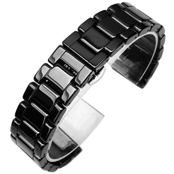 Smart Watch Straps : Android Watch : Ceramic - Black