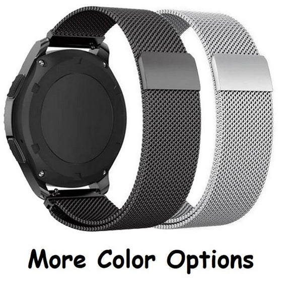 Smart Watch Straps : Android Watch : Milanese Stainless Steel