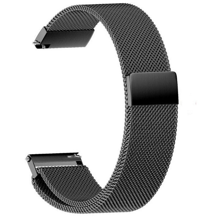 Android Watch Straps : Milanese Stainless Steel