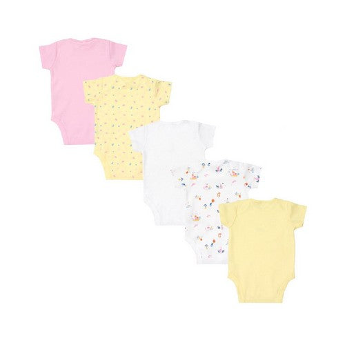 Mothercare : Swan Priness Body Suits - Set of 5