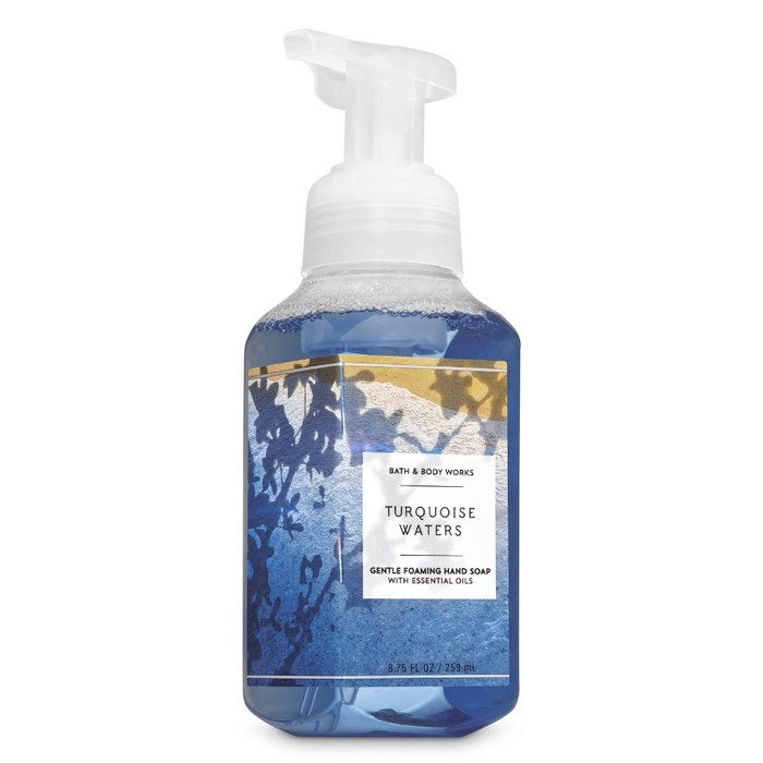 Bath and Body Works : Gentle Foaming Hand Soap : Turquoise Waters