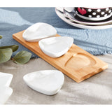 HomeCentre : Vonschef : 4-Piece Dip Tray Set