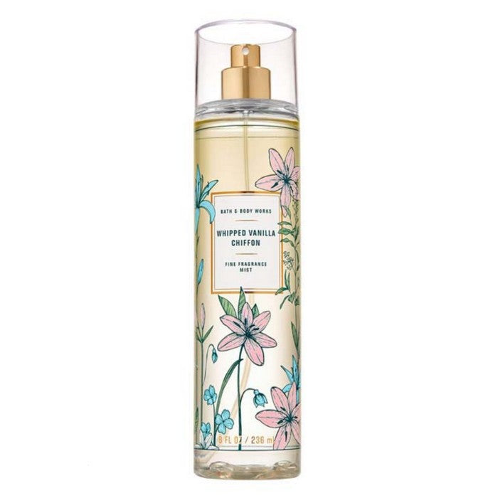 Bath and Body Works : Fragrance Mist : Whipped Vanilla Chiffon