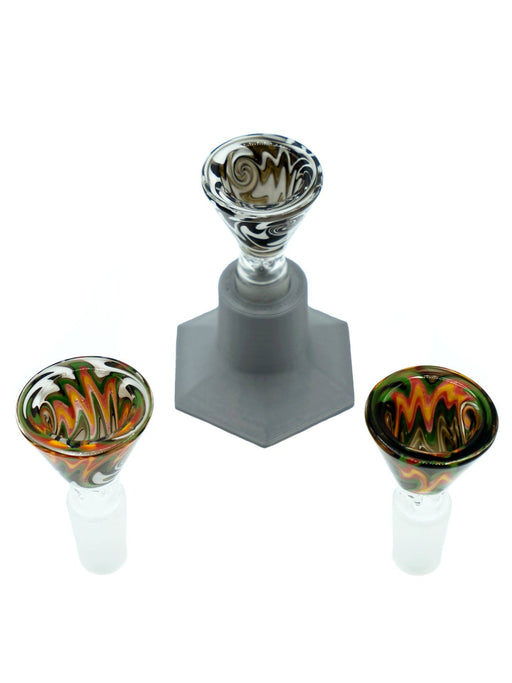 Deluxe Glass Bowl Bundles Print Puff Pass