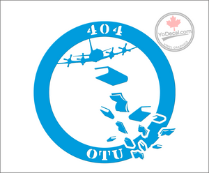 '404 OTU Squadron CP-140 Aurora - Knowledge' Premium Vinyl Decal
