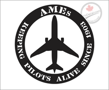 'AMEs Keeping Pilots Alive Since 1903' Premium Vinyl Decal