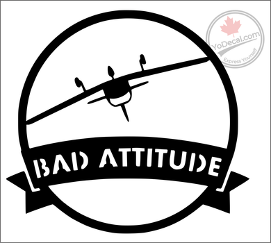 'Bad Attitude Cherokee' Premium Vinyl Decal