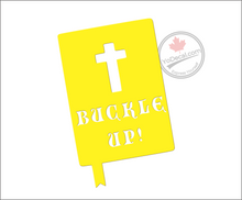 'Buckle Up' Premium Vinyl Decal