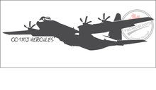 'CC-130 Hercules 'J' Model' - Premium Vinyl Decal