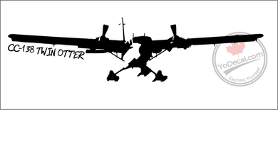 'CC-138 Twin Otter' - Premium Vinyl Decal