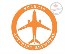 'CC-150 Polaris Anything Anywhere' Premium Vinyl Decal