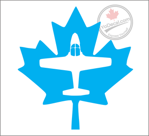 'Snowbird CT 114 Tutor Canadian Maple Leaf' Premium Vinyl Decal