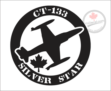 'CT-133 Silver Star' Premium Vinyl Decal