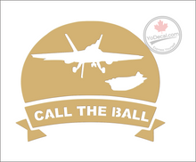 'Call The Ball F-18' Premium Vinyl Decal