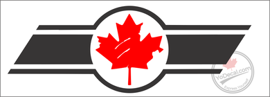 'Canadian Maple Leaf Emblem' - Premium Vinyl Decal