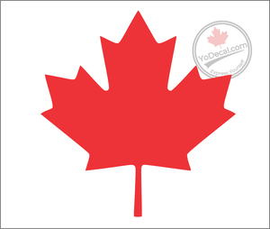'Canadian Maple Leaf' Premium Vinyl Decal