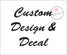 'Custom Vehicle Sign Decals 2' Premium Vinyl Decal