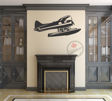 'DHC-2 Beaver Floatplane' Premium Vinyl Wall Decal