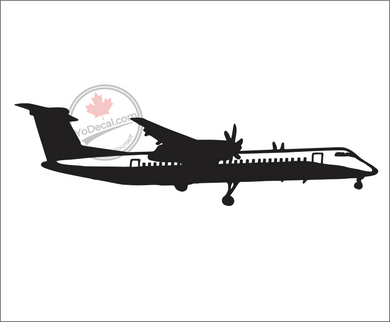 'Dash 8 Q400 DHC' Premium Vinyl Decal