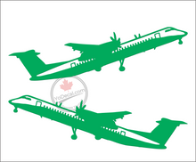 'Dash 8 Q400 DHC (PAIR)' Premium Vinyl Decal